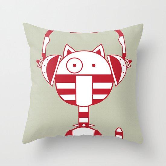 Scat 2 Throw Pillow