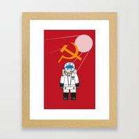 SOVIET Framed Art Print