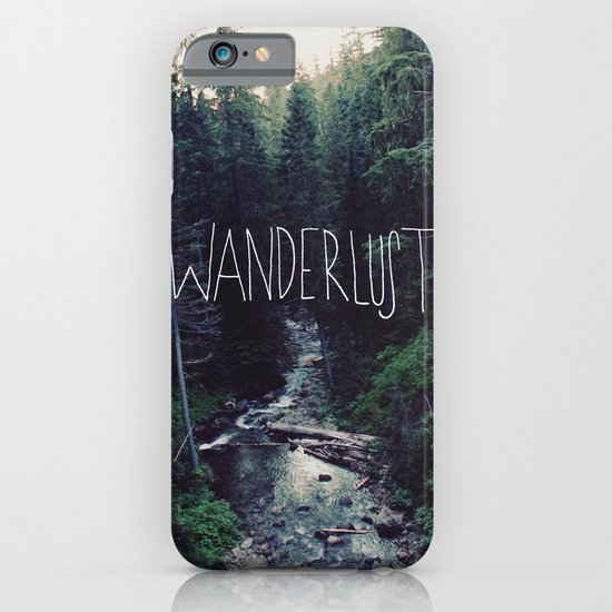 Wanderlust: Rainier Creek iPhone & iPod Case