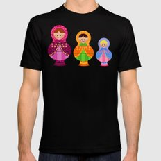 Matrioskas 2 (Russian dolls 2) Mens Fitted Tee Black SMALL