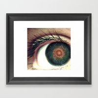 Universal View Framed Art Print