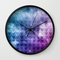 Galaxy Fade Wall Clock