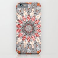 iPhone Cases featuring manDala by Monika Strigel
