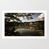 Kinkakuji/The Golden Pav… Art Print