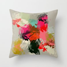 Abstract & fluid shapes Throw Pillow