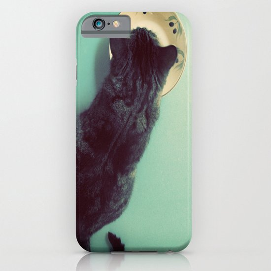 Cat and Saucer iPhone & iPod Case