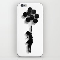 Banksy Fly Away  iPhone & iPod Skin
