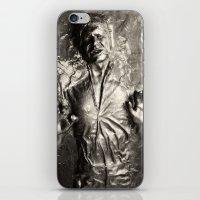 Han Solo carbonite iPhone & iPod Skin