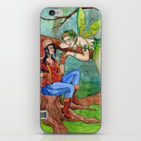 The Wood Nymph And The L… iPhone & iPod Skin