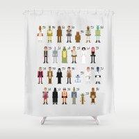 St_ar_Wars Alphabet 2 Shower Curtain