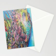 by the sea by the sea by the beautifull  sea Stationery Cards