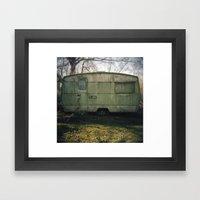 Caravan Framed Art Print