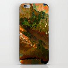 06-04-18 (Mountain Glitch) iPhone & iPod Skin