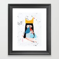 sabine Framed Art Print