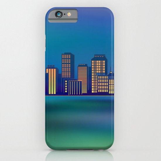 Seaside Cityscape iPhone & iPod Case