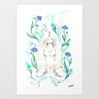 Ethreal Art Print