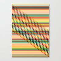 Ovrlap Canvas Print