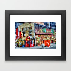 Mexican  Bar Framed Art Print