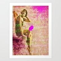 Beach Beauty Art Print