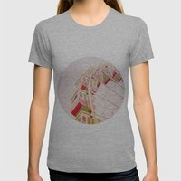 Dreamy Morning Womens Fitted Tee Athletic Grey SMALL