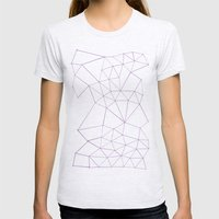 Segment Zoom Orchid Womens Fitted Tee Ash Grey SMALL