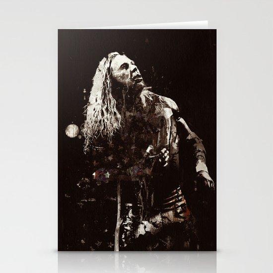 The Wrestler Stationery Card