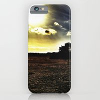 iPhone & iPod Case featuring Light vs. Dark by Molzography