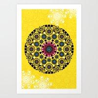 Mandala Vii Art Print