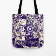 Comic Land Tote Bag