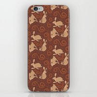 Hare Hoedown iPhone & iPod Skin