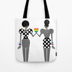 Totally in Love Girls (LGBT) Tote Bag