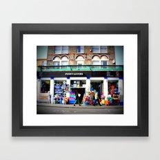 Pinching Pennies Framed Art Print