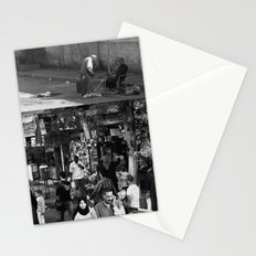 Street collage Stationery Cards