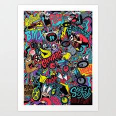 BMXXXXX Art Print