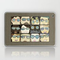 Glasses Vertical Laptop & iPad Skin