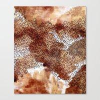 The Skin Of Cheetah Canvas Print