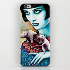 Diana and the Rats iPhone & iPod Skin