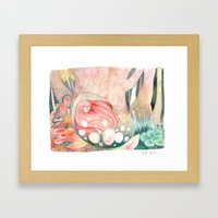 Kinoko Framed Art Print