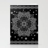 Elegant Black And White … Stationery Cards