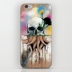 Skull Roots iPhone & iPod Skin