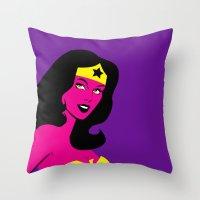 Pop The Wonder! Throw Pillow