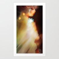 Illustrative Desire [Digital Figure Illustration] Art Print