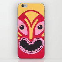 The Jolly Lucha iPhone & iPod Skin