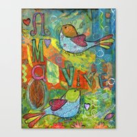 Live for Love, Love to Live Canvas Print