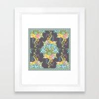 Lily Bouquet Framed Art Print