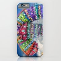 iPhone Cases featuring The Rainbowhouse ! by teddynash
