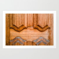 Wood Door Art Print