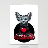 Little Fenek:::Big-heart… Stationery Cards