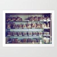 Greek Bakery Art Print