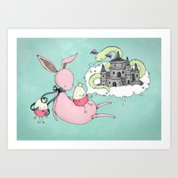 The Tall Tale Art Print